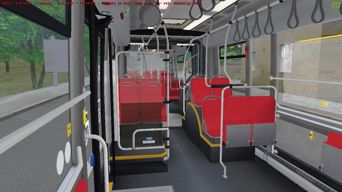 Screenshot of the Scania Citywide repaints